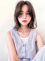メラニンブレイク+ホワイトブラウン(髪型ボブ)