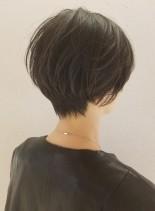 すっきりコンパクトな美フォルムショート(髪型ショートヘア)