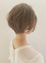 ふんわりエアリーなショートボブ(髪型ショートヘア)