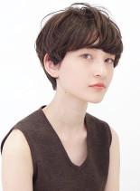 大人マッシュショート×ニュアンスショート(髪型ショートヘア)