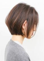 小顔ハンサムショートボブ(髪型ボブ)