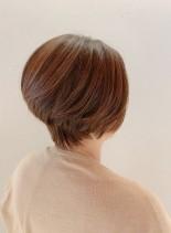 ★オススメ大人のひし形3Dショート★(髪型ショートヘア)