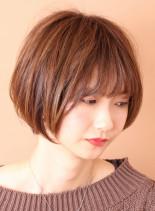 朝も楽チン◎大人美人ショート(髪型ショートヘア)
