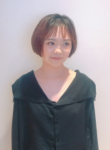 ★ツヤ髪大人のシンプルショートボブ★(髪型ショートヘア)