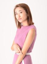 ラクチンミディアムスタイル(髪型ミディアム)