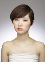 コンパクトショートスタイル(髪型ショートヘア)