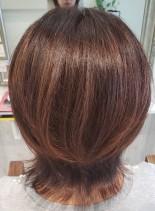 外ハネショート(髪型ショートヘア)