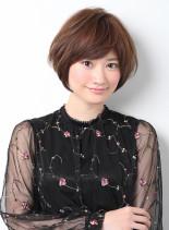 王道ショートボブ(髪型ショートヘア)