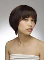 マッシュスタイル(髪型ショートヘア)