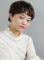 パーママッシュショート(髪型ベリーショート)