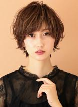 小顔バランスシルエット☆(髪型ショートヘア)