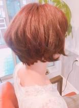 エアリーショートボブ(髪型ショートヘア)