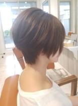 30代40代にオススメ☆ゆったりショート(髪型ショートヘア)
