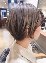 大人かわいいミニマムショート(髪型ショートヘア)