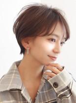 大人可愛い☆柔らかセンシュアルショート(髪型ショートヘア)