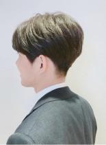 ★大人メンズの流し前髪ビジネスヘア★(髪型メンズ)