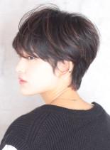 大人の絶壁解消ショート*(髪型ショートヘア)