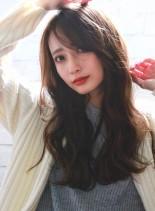 ナチュラルベージュ☆ふんわりデジパ (髪型ロング)