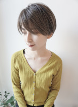 大人の長めマッシュショート(髪型ショートヘア)