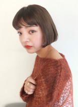 キュートショートボブ(髪型ショートヘア)