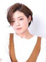 お手入れ簡単☆大人ショートヘア(髪型ショートヘア)