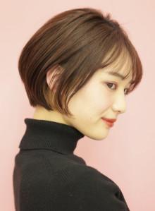 手入れ簡単☆大人ショートボブ(ビューティーナビ)