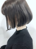 大人めワンレンボブ(髪型ボブ)