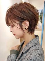 スッキリ大人のショートカット☆(髪型ショートヘア)