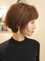 乾かすだけ☆美人シルエットショート(髪型ショートヘア)