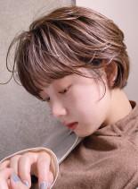 オシャレな雰囲気☆大人ショート☆(髪型ショートヘア)