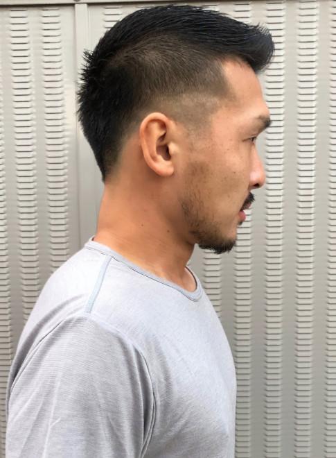大人barberフェードカット(ビューティーナビ)