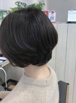 ショートボブ(髪型ショートヘア)