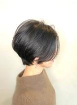 米倉涼子風 後頭部ふんわりバルーンボブ(髪型ショートヘア)