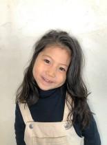 外国人風 エアリーウェーブ(髪型ロング)