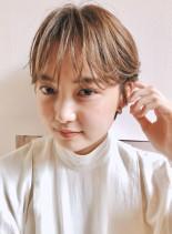 すき透る☆ショートヘア(髪型ショートヘア)