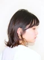 伸ばしかけの方に☆大人のくびれボブ(髪型ボブ)