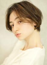 ミニマムショートボブ (髪型ショートヘア)