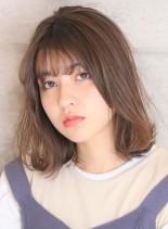 結べるニュアンスボブディ(髪型ミディアム)