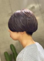 大人ショートボブ  (髪型ショートヘア)