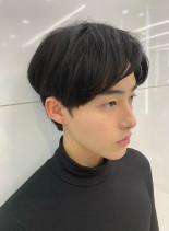 韓国風 マッシュショート(髪型メンズ)