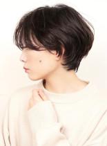 大人可愛いショートヘア(髪型ショートヘア)