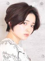 【絶壁解消】似合わせショートボブ(髪型ショートヘア)