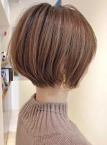 ショートボブなら丸みショート(髪型ショートヘア)
