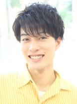 爽やかツーブロックスマートマッシュ(髪型メンズ)