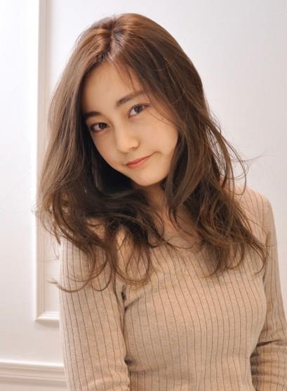 井川遥風大人のロング(髪型ロング)