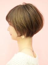 手入れ簡単☆似合わせショートボブ(髪型ショートヘア)