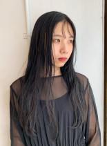 ストレートロング(髪型ロング)