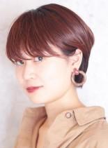 スタイリッシュなショートマッシュ(髪型ショートヘア)