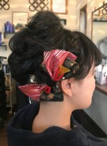 成人式☆ショートヘアアレンジ(髪型ショートヘア)