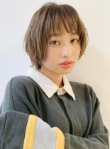 大人気!小顔ウルフショート☆(髪型ショートヘア)